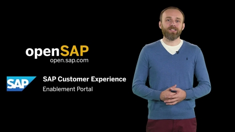 Thumbnail for entry Introducing openSAP Microlearning