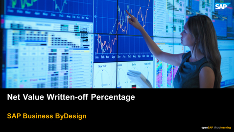 Thumbnail for entry Net Value Written-off Percentage - SAP Business ByDesign