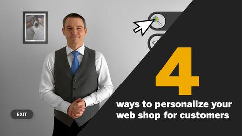 Thumbnail for entry Interactive Personalization Compilation - SAP CX Enablement Portal