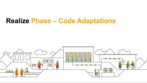 Thumbnail for entry Realize Phase : Code Adaptions - SAP Commerce Cloud - Webcast