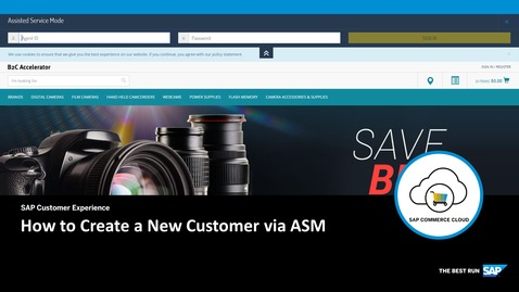 Thumbnail for entry How to Create a New Customer via ASM - SAP Commerce Cloud
