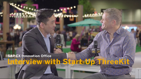 Thumbnail for entry Interview with Start-Up ThreeKit - SAP CX Innovation Office