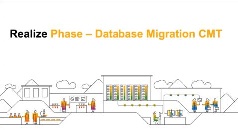 Thumbnail for entry SAP Commerce Cloud Realize Phase : Database Migration CMT - Webcast