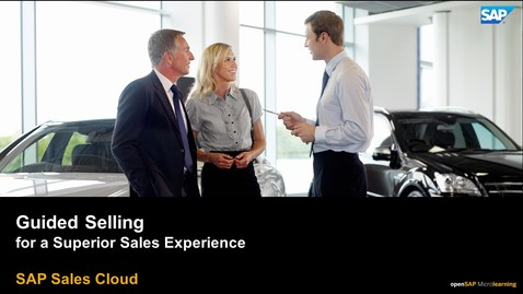 Thumbnail for entry Guided Selling - SAP Sales Cloud