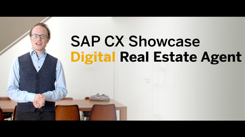 Thumbnail for entry Digital Real Estate Agent - SAP CX Innovation Office