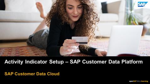 Thumbnail for entry Activity Indicators Setup - SAP Customer Data