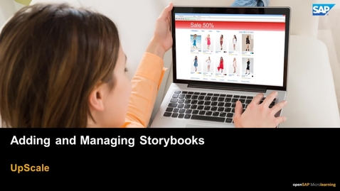 Thumbnail for entry Adding and Managing Storybooks - SAP Upscale Commerce