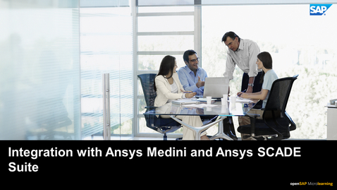 Thumbnail for entry Integrating Systems Engineering with Ansys Medini and Ansys SCADE - PLM: Systems Engineering