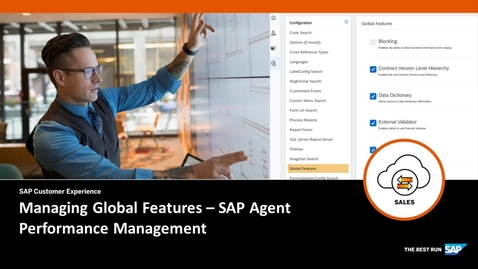 Thumbnail for entry Managing Global Features in SAP Agent Performance Management