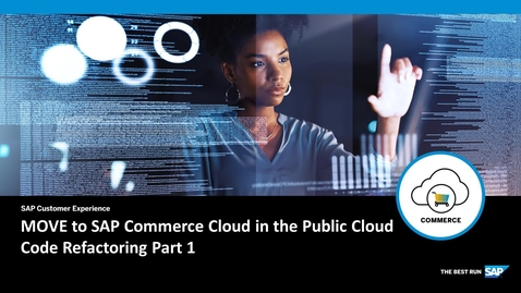 Thumbnail for entry MOVE to SAP Commerce Cloud in the Public Cloud - Code Refactoring Part 1