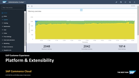Thumbnail for entry Platform & Extensibility - SAP Commerce Cloud