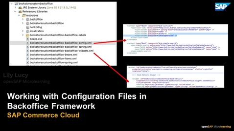 Thumbnail for entry Working with Configuration Files in Backoffice Framework - SAP Commerce Cloud