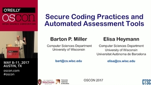 Secure coding practices and automated assessment tools