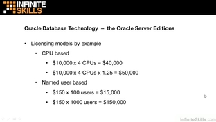 Oracle Database Server Editions - Learning Oracle 12c [Video]