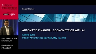 Automatic financial econometrics with AI - Ambika Sukla