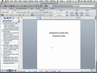 Adding And Removing A DRAFT Watermark - Microsoft Word 2011 (Mac