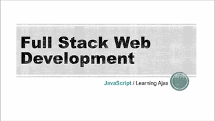 Learning Ajax - Basic Ajax Project - The Full Stack Web