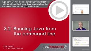 3 2 Running Java from the command line - OCA Java SE 8 Programmer I