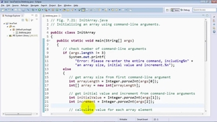 Initializing an array using command-line arguments - Java 8 and 9