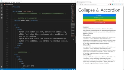 Collapse & Accordion | LEARNING PATH: Responsive Frontend