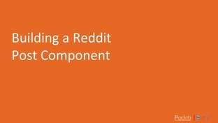 Building a Reddit Post Component - Build a Reddit-Like