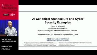 AI canonical architecture and cybersecurity examples - David