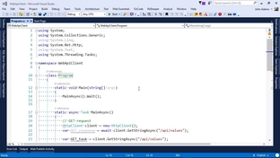 Create An API Client With C# - Building Web APIs with ASP