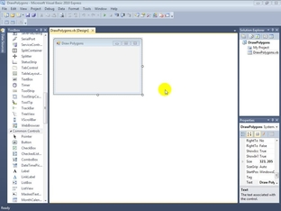 Drawing Polygons and Polylines - Visual Basic 2010