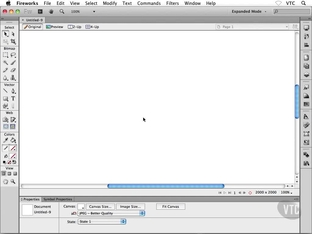 Using the Pencil and Brush Tools - Adobe Fireworks CS6 [Video]