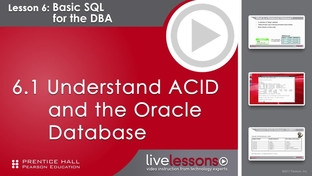 6 1 Understand ACID and the Oracle Database - Oracle DBA