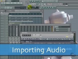 Importing Audio - FL Studio 10 [Video]