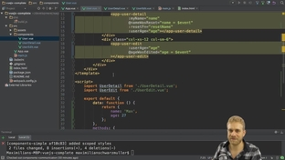 Centralizing Code in an Event Bus - Vue JS 2 - The Complete Guide
