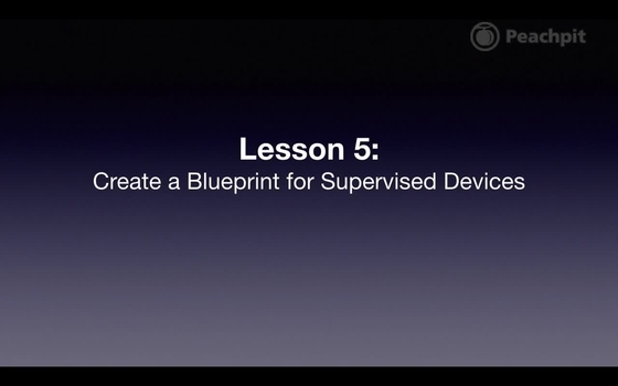 Create a blueprint for supervised devices apple configurator 2 video thumbnail for create a blueprint for supervised devices malvernweather Choice Image