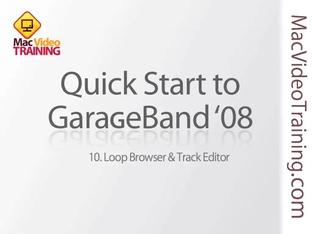 10  Loop Browser & Track Editor - Learn GarageBand: Mac