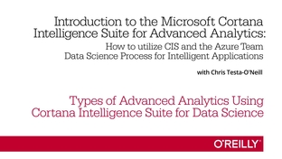 types of advanced analytics using cortana intelligence suite for