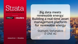 Big data meets renewable energy: Building a real-time asset