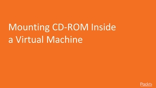 Mounting CD-ROM Inside a Virtual Machine - Mastering CentOS