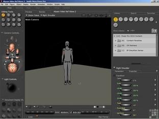 Poser motion capture