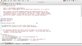 OpenMPI Example - MPI Message Passing - Concurrent and