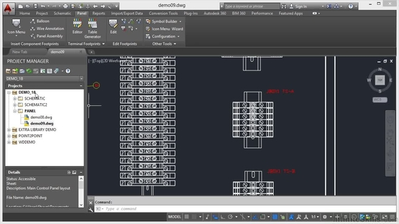 Terminal Block Properties Learning Autodesk AutoCAD Electrical