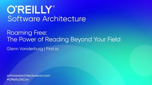Roaming free: The power of reading beyond your field - Glenn
