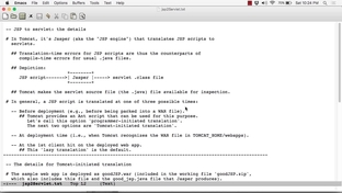 JSP Script To Java Servlet Translation - Learning Apache