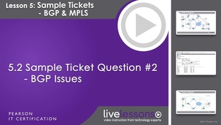5 2 sample ticket question 2 bgp issues ccnp routing and