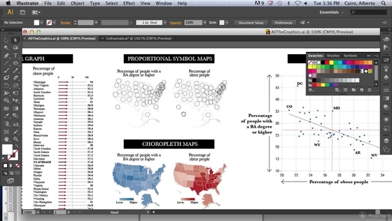 Infographic Ideas best adobe software for infographics : Creating Bubble Maps - 'Creating Maps, Charts, and Infographics ...