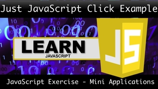 Just JavaScript Click Example - JavaScript in Action - Build