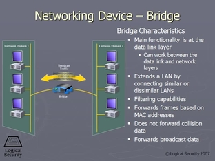 Networking Device - Bridge - CompTIA Security+ SY0-201 Video Course