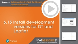 6 15 Install development versions for DT and Leaflet - Shiny R [Video]