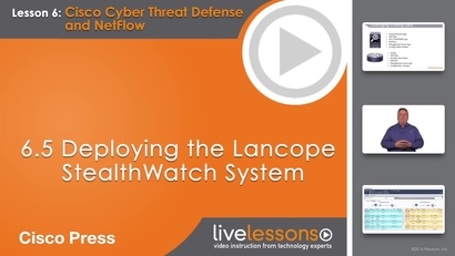 6 5 Deploying the Lancope StealthWatch System   Learning