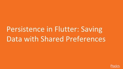 Persistence in Flutter: Saving Data with Shared Preferences