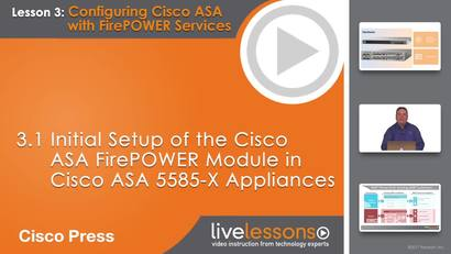 3 1 Initial Setup of the Cisco ASA FirePOWER Module in Cisco ASA